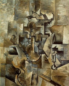 Braque - Violin And Candlestick